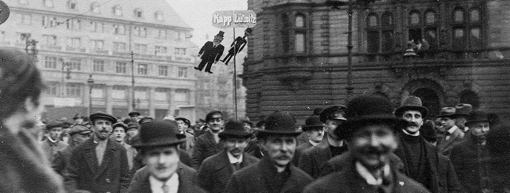 Demonstration against Kapp and Lüttwitz