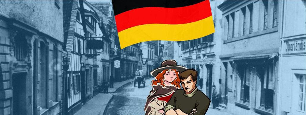 Königswinter, black-red-gold flag