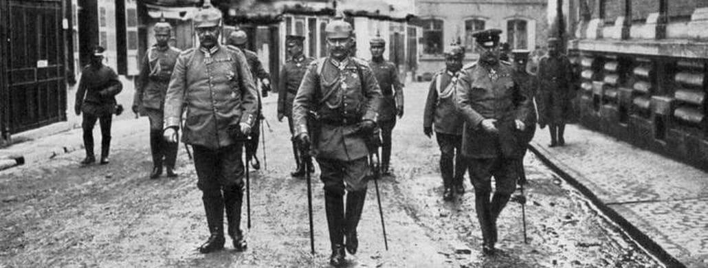Hindenburg, Kaiser William II, Ludendorff