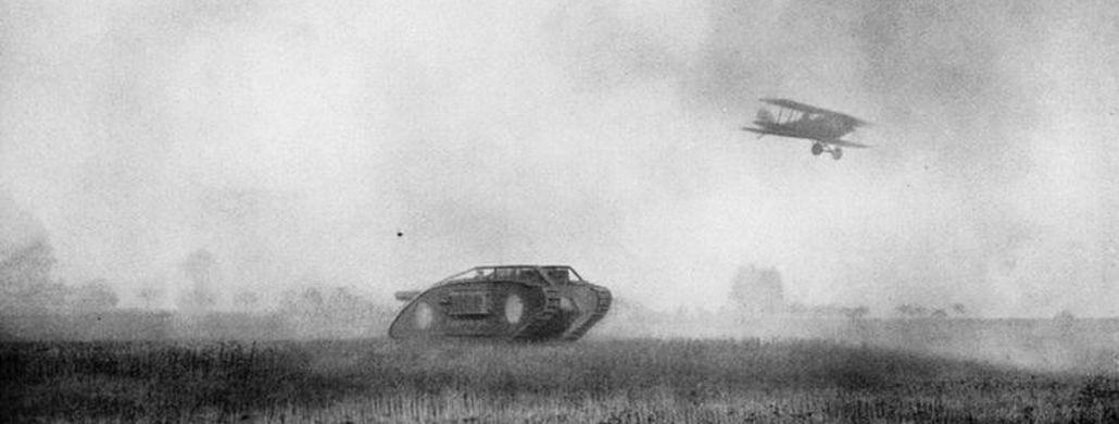 War year 1918, tanks