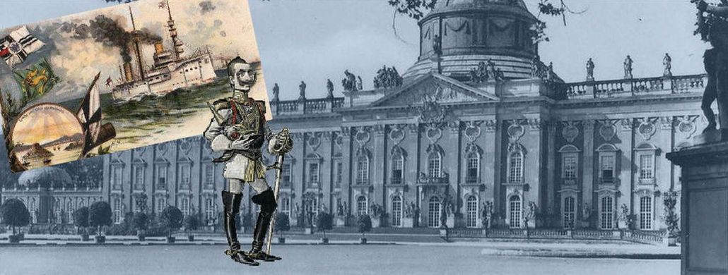 Kaiser Wilhelm, New Palace, Potsdam, Imperial fleet