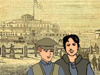 Bergmann brothers, Castle Garden