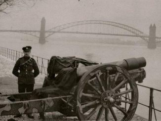 Canadian soldier, Bonn 1920