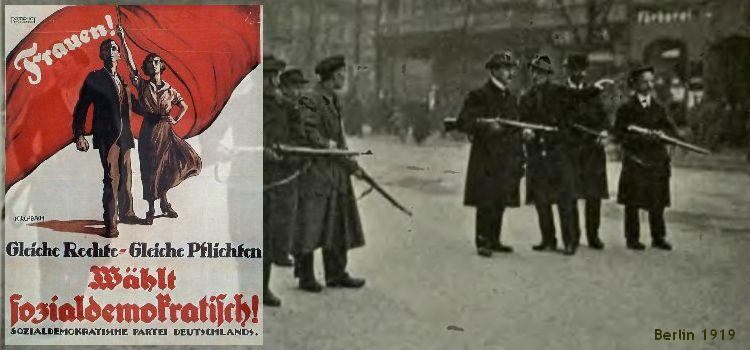 Elections 1919, spartacists in Berlin