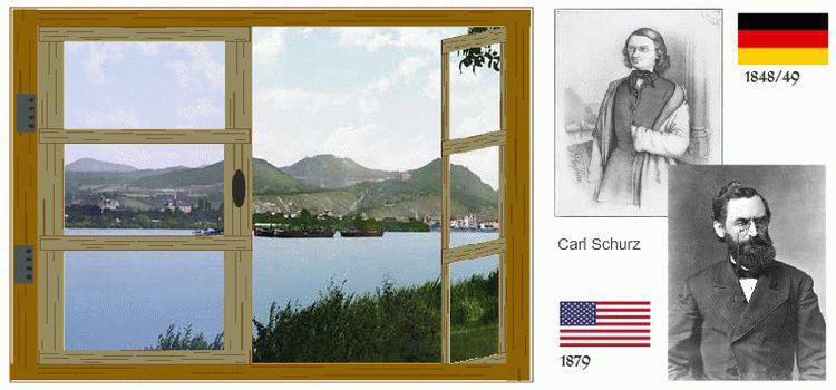 Carl Schurz, 1849 and 1879