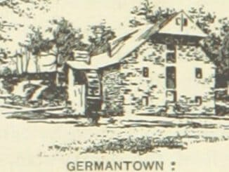Old mill in Germantown, PA