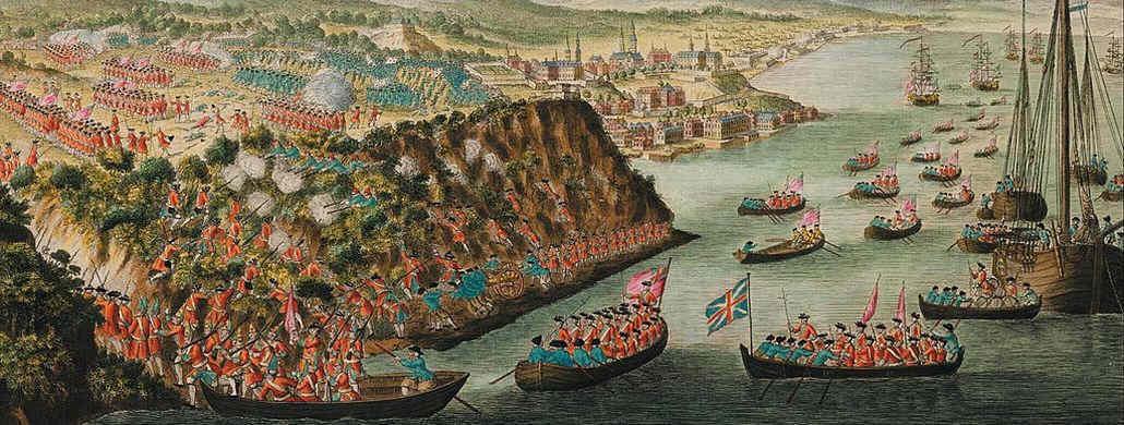 Battle on the Plains of Abraham, 1759